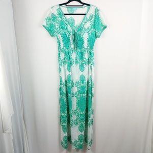 Melissa Odabash Maxi Dress 100% Cotton